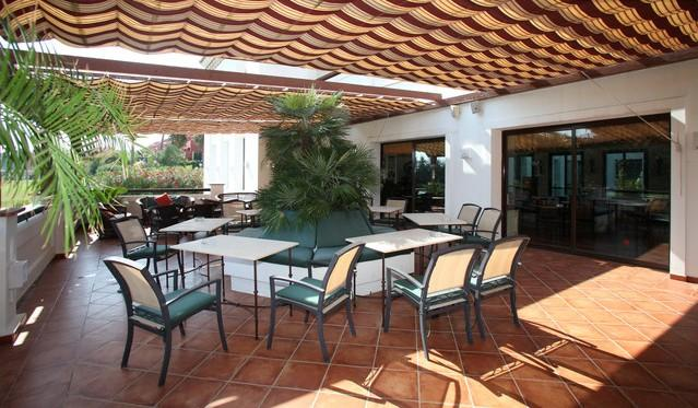 Outside Terrace Area of the Restaurant