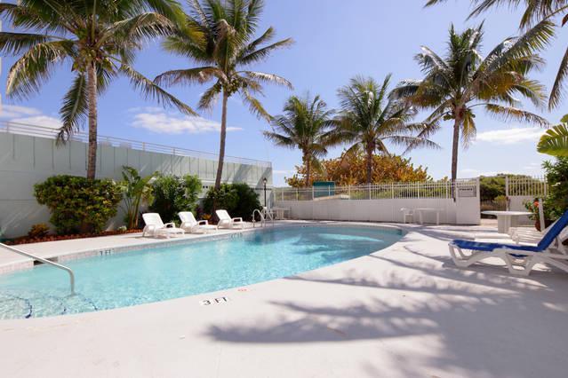 Outdoor Pool Deck.