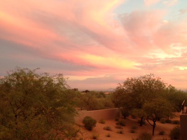 Beautiful Desertscape View
