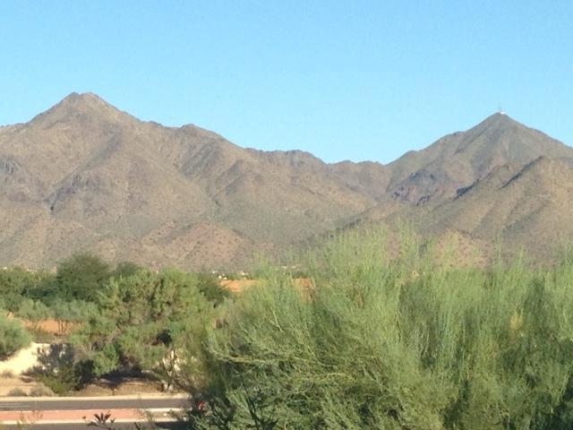 McDowell berg uitzicht vanaf dekken