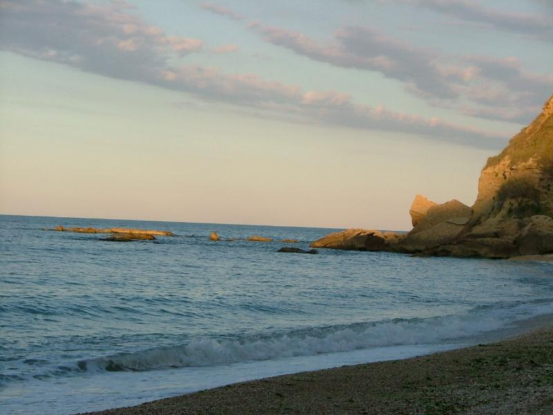 Peaceful beach day at Ortona