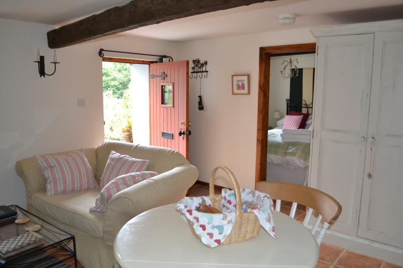Cosy, well equipped interior of the cottage