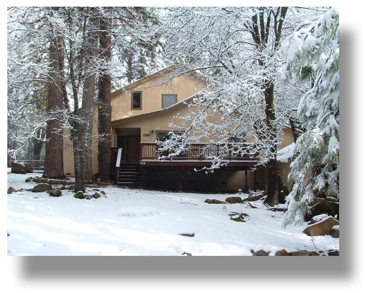 Wawona Home in winter