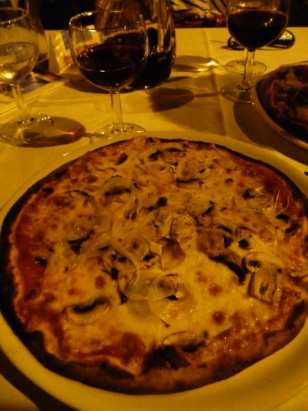 La Contea Pizza: only 6 Euros! Just down the street down a charming alley.