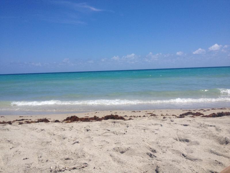 The beach is across the street!