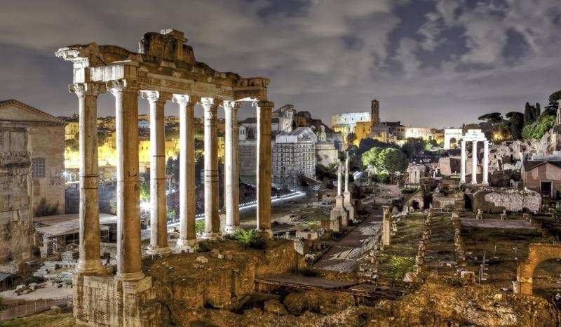 Roman Forum : 10 mins
