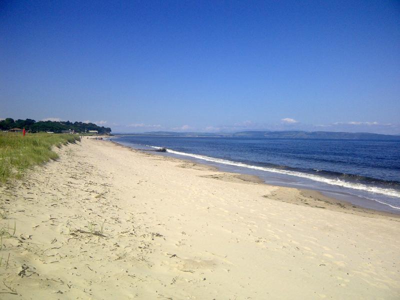 Children will love the beautiful beach at Nairn