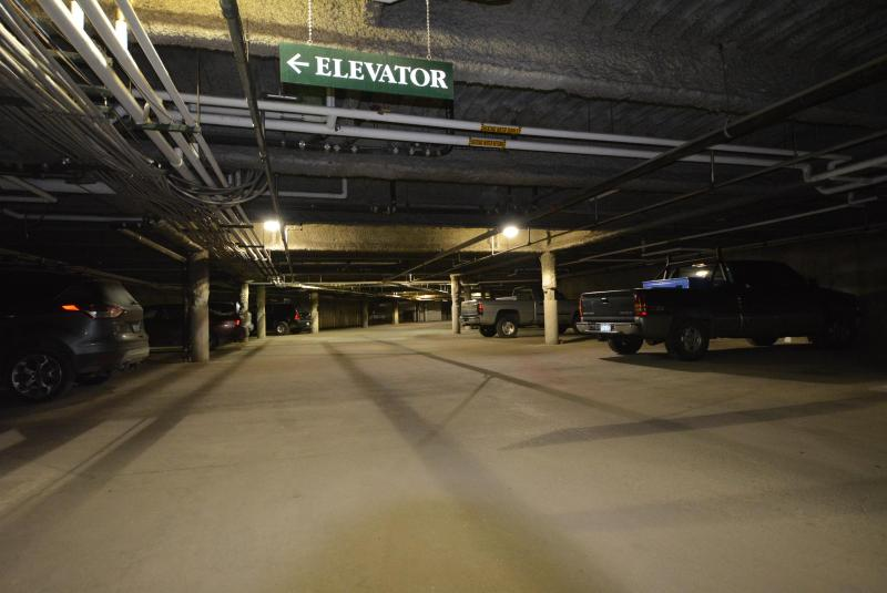 Plenty of free underground heated parking