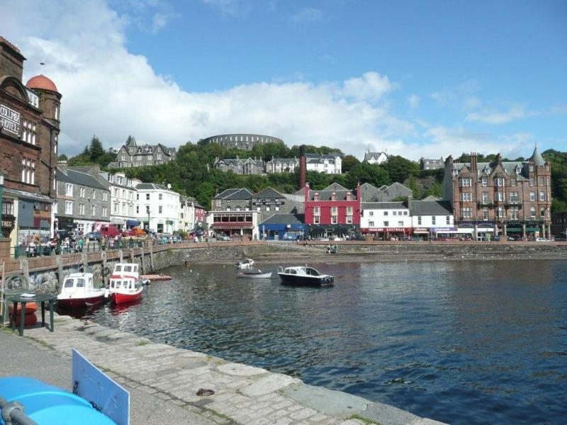Oban Harbour on the West Coast
