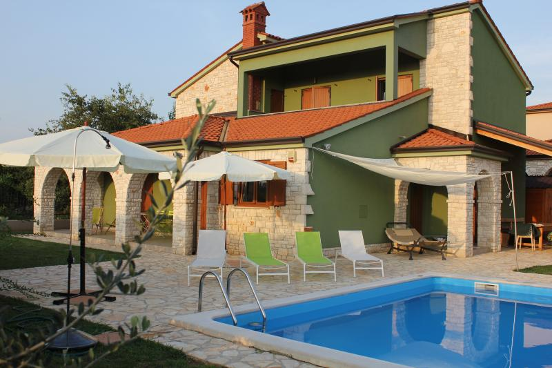marvellous Villa , croatian style with Italian furniture and details. Private pool