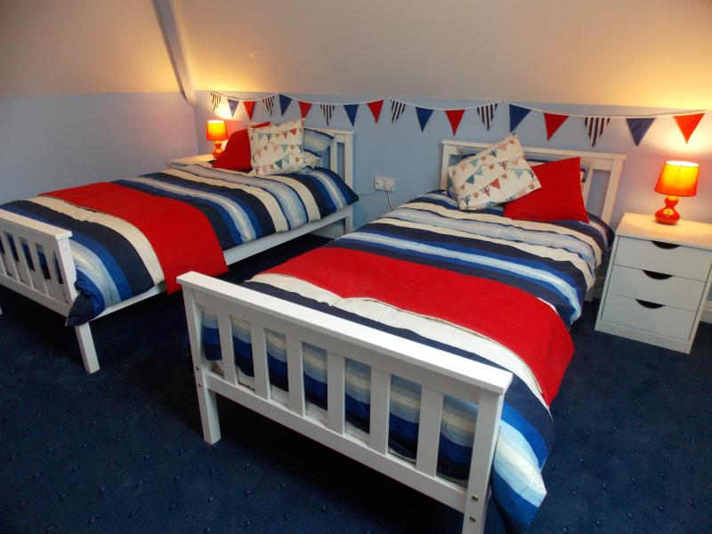 Nautical Themed Twin Bedroom - First Floor