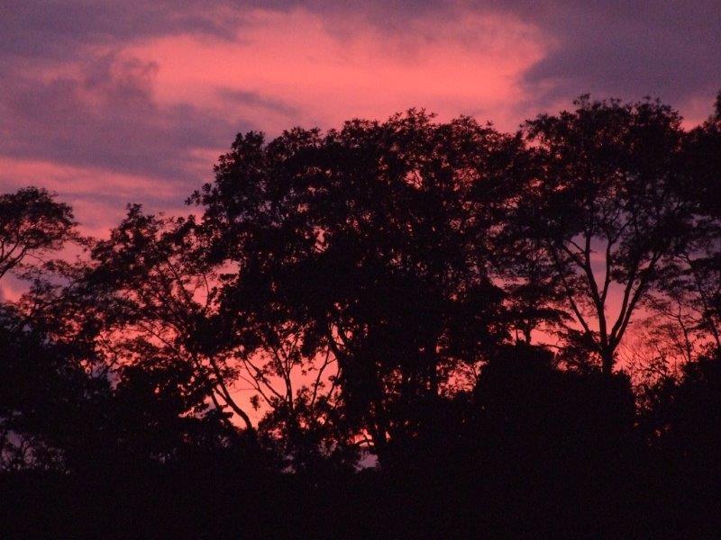 Sunset from Casa Dulce