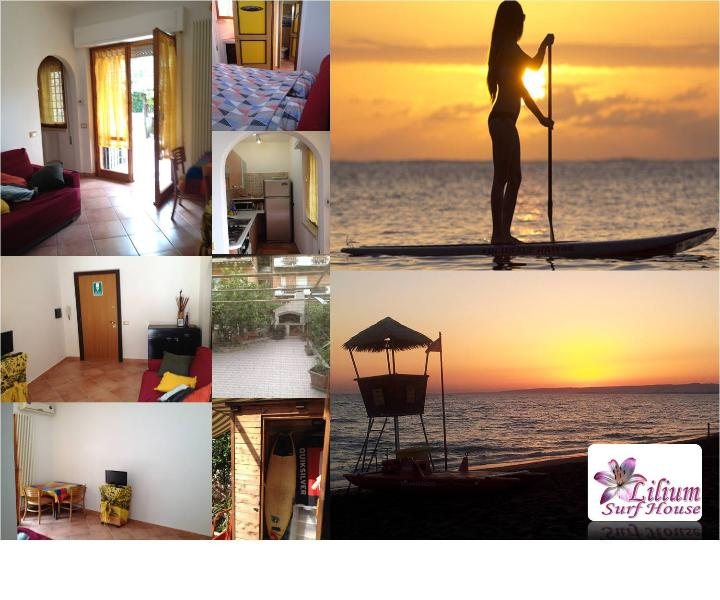 Our apartment is perfect for guests with children 1 2 or max 3 guests. We are locared near the sea