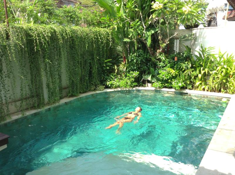 Seminyak, 3 Bed Villa, Air-con Living, pool gate, walk to beach, Family Value, holiday rental in Kuta District