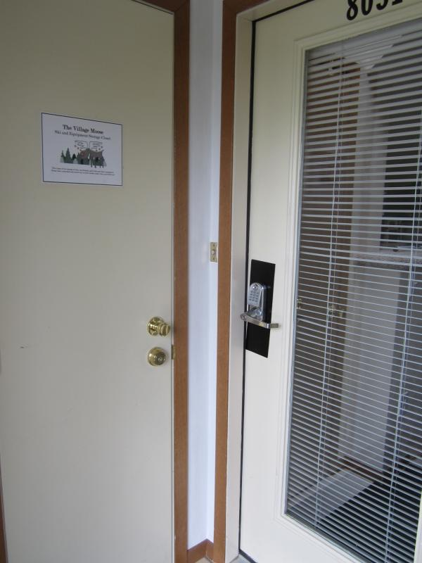 Keyless entry for easy guest access