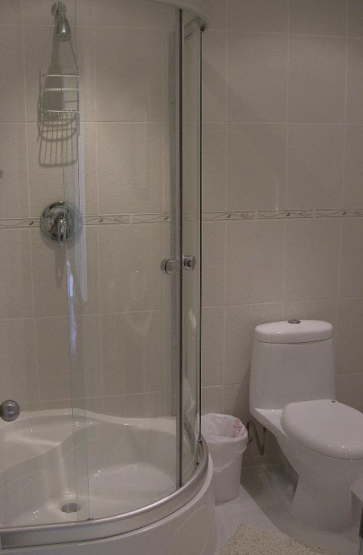 En-Suite shower rooms with modern facilities & downlighters