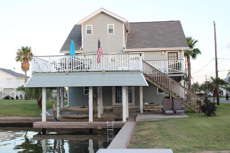 Canal House with boat dock