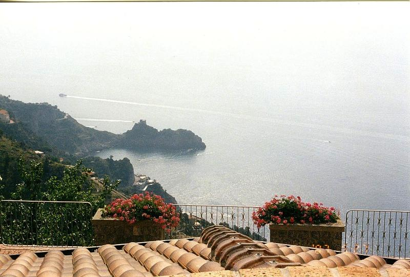Magnificent view of Capo di Conca with its ancient tower