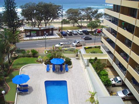 Surfers Paradise Central Ocean view of the beach!!, vacation rental in Gold Coast