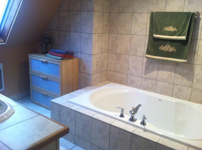 Gran bañera baño #1.