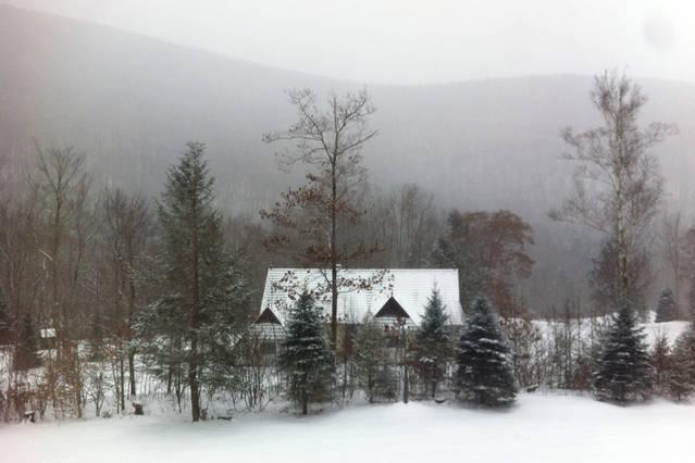 Vista de la casa de alquiler de la casa principal