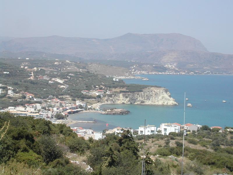 View from Kokkino Chorio over Almyrida