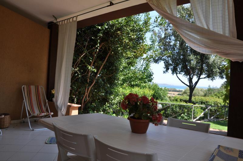 Ampia veranda panoramica