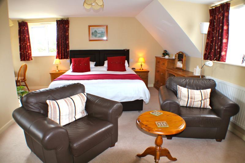 Belangrijkste kamer met King Sized Bed