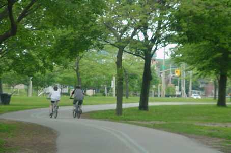Bike Trail 200m away
