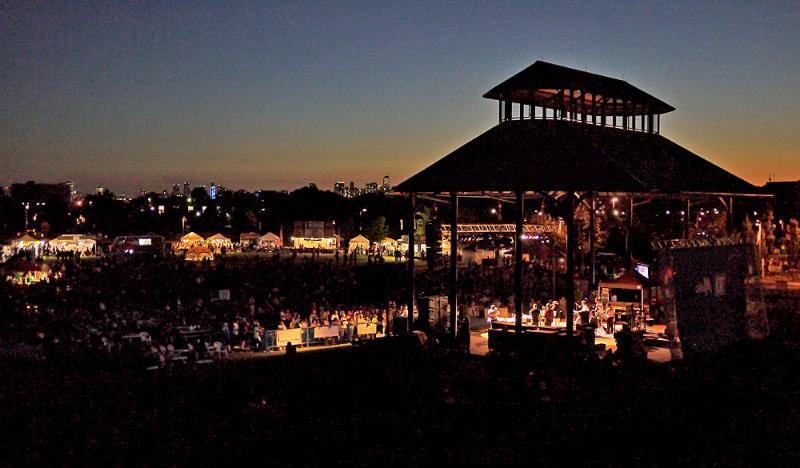 Woodbine Park Jazz Fest Stage