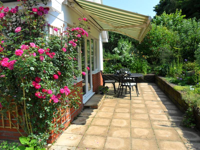 Patio, to enjoy afternoon tea or an evening drink perhaps