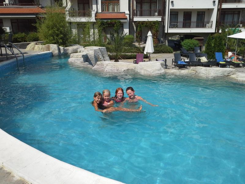 Einer der drei pools