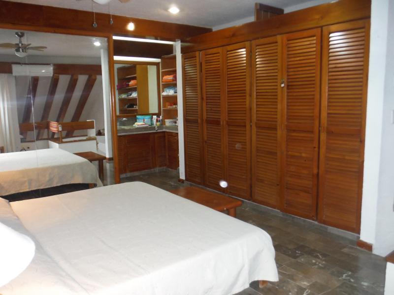 Grande armadio in legno - Grand portaccessori - armadio espacioso