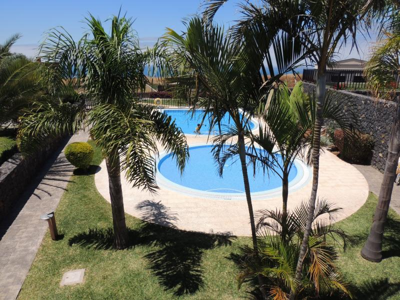 Swimming pools and garden