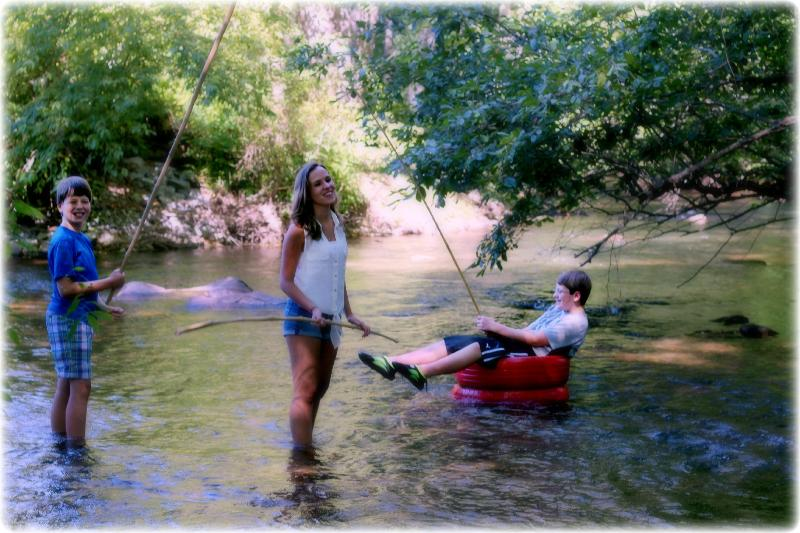 This is what July looks like in the Creek - when are you coming up?