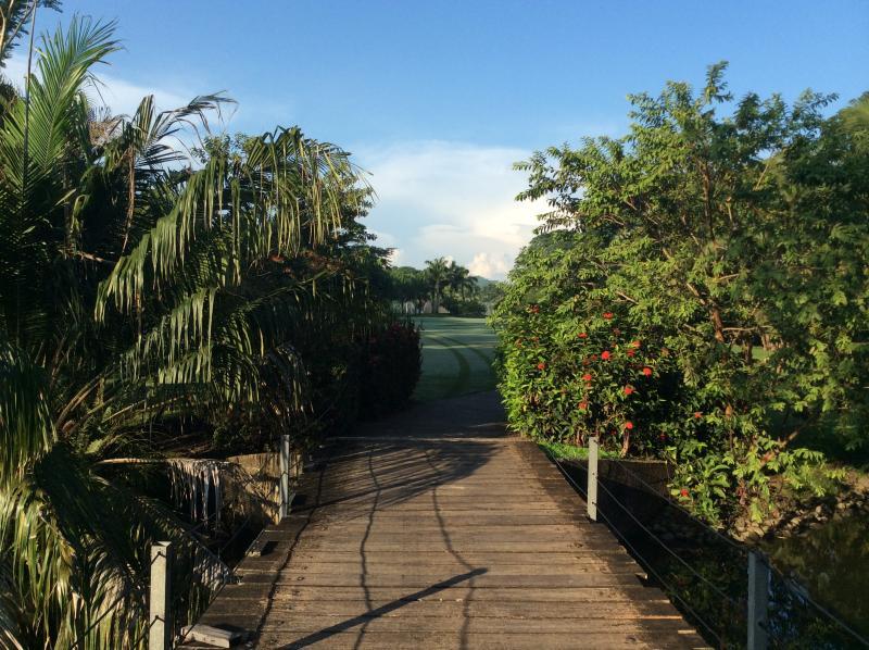 The Walking Bridge Between Golf Holes