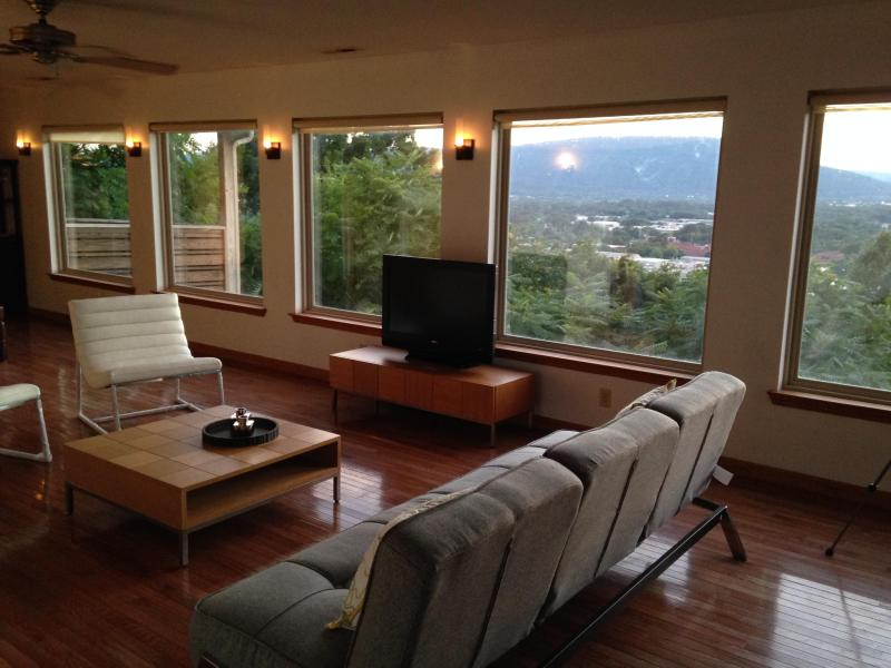 living room view of Lookout Mnt.
