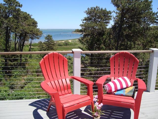 View from Upper deck - Waterfront North Chatham Cape Cod New England Vacation Rentals