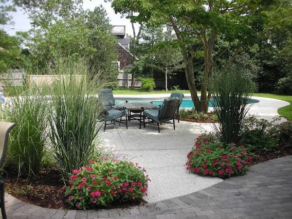 Jardines traseros, piscina y patio - 16 Studley Road Hyannis Cape Cod Nueva Inglaterra Alquileres de vacaciones