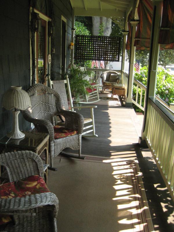 Spacious Front Porch