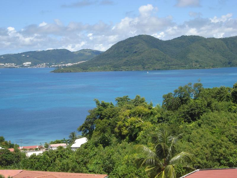 View from the terrasse of Canouan