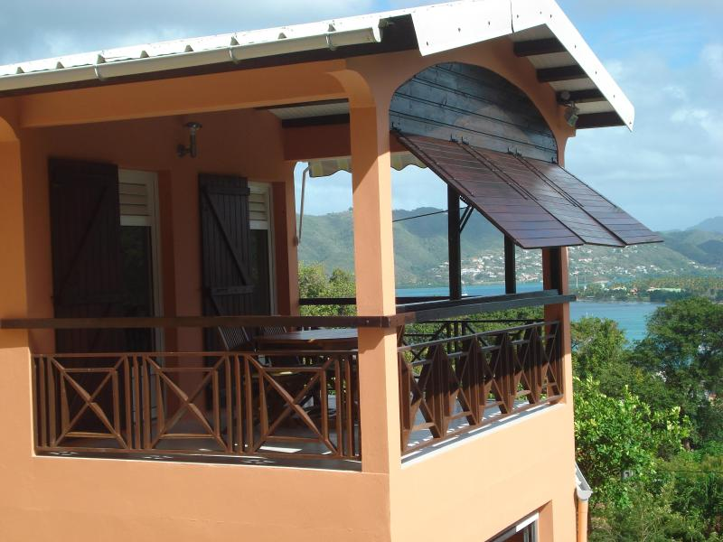 Carriacou balcony