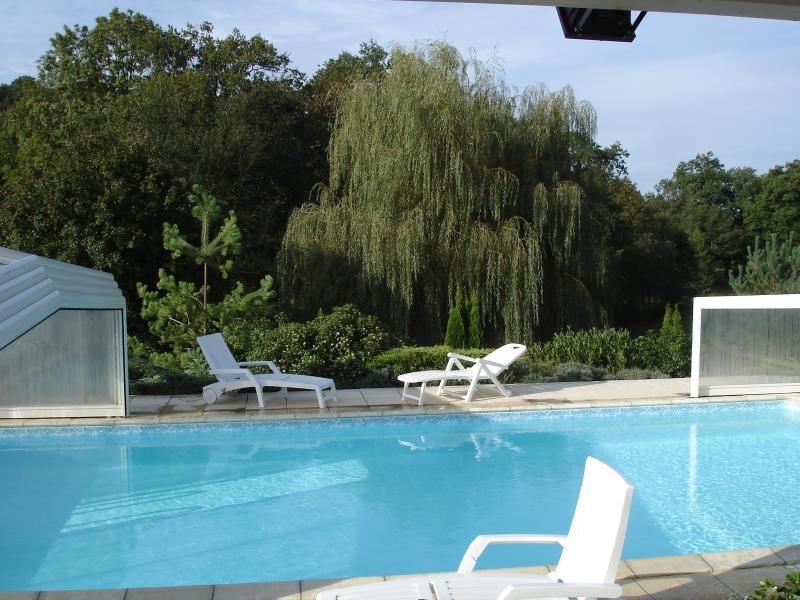 GITE avec PISCINE PRIVEE et COUVERTE proche ROCAMA, holiday rental in Theminettes