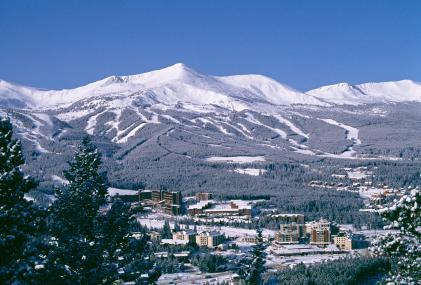Breck y pistas de esquí