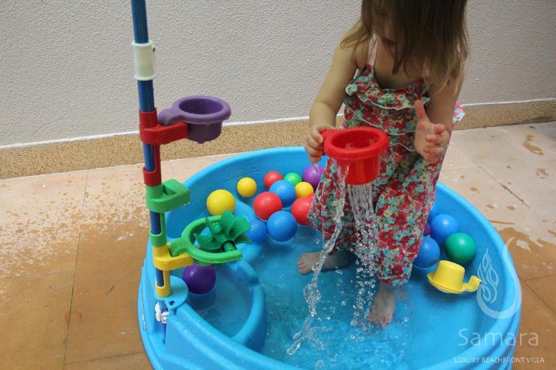 Samara Villa Samui- R6 baby water & sand pool