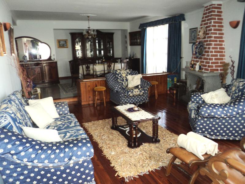 Blue Living Room