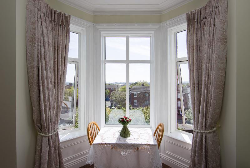 Wonderfully bright with bay window overlooking city of Dublin