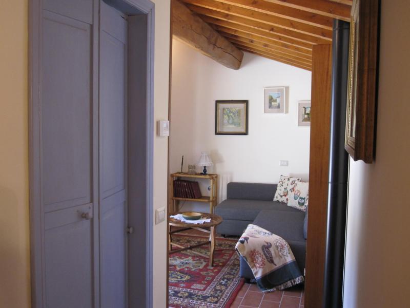 Corridoio al salotto,,-villatorredicolonne #villarentalflorence