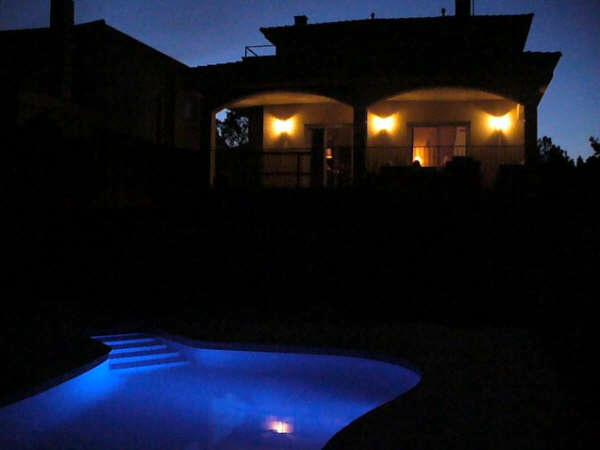 Estrella del Mar by night