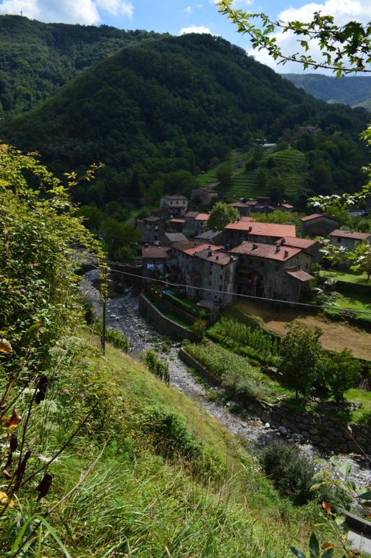 15th century Fabbriche di Vallico is a walk away
